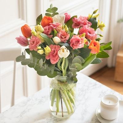 Blumenstrauß Patagonia & Le Parfait vase
