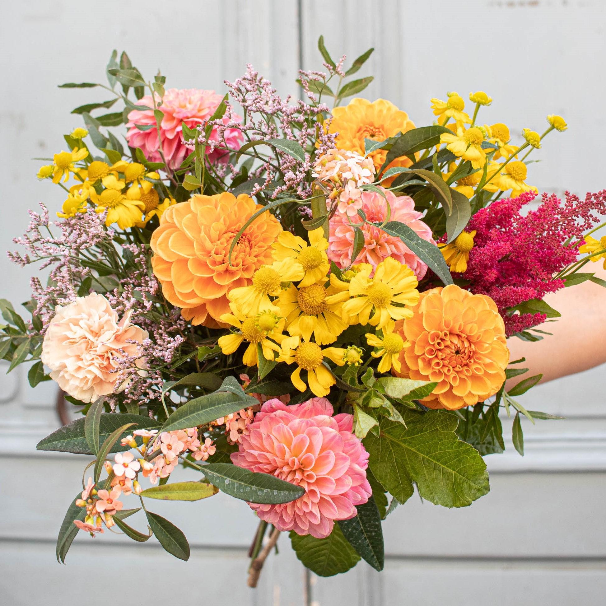 Le Bouquet de Chloé, gagnante du jeu concours spécial anniversaire, organisé pour les 5 ans. de Bergamotte.