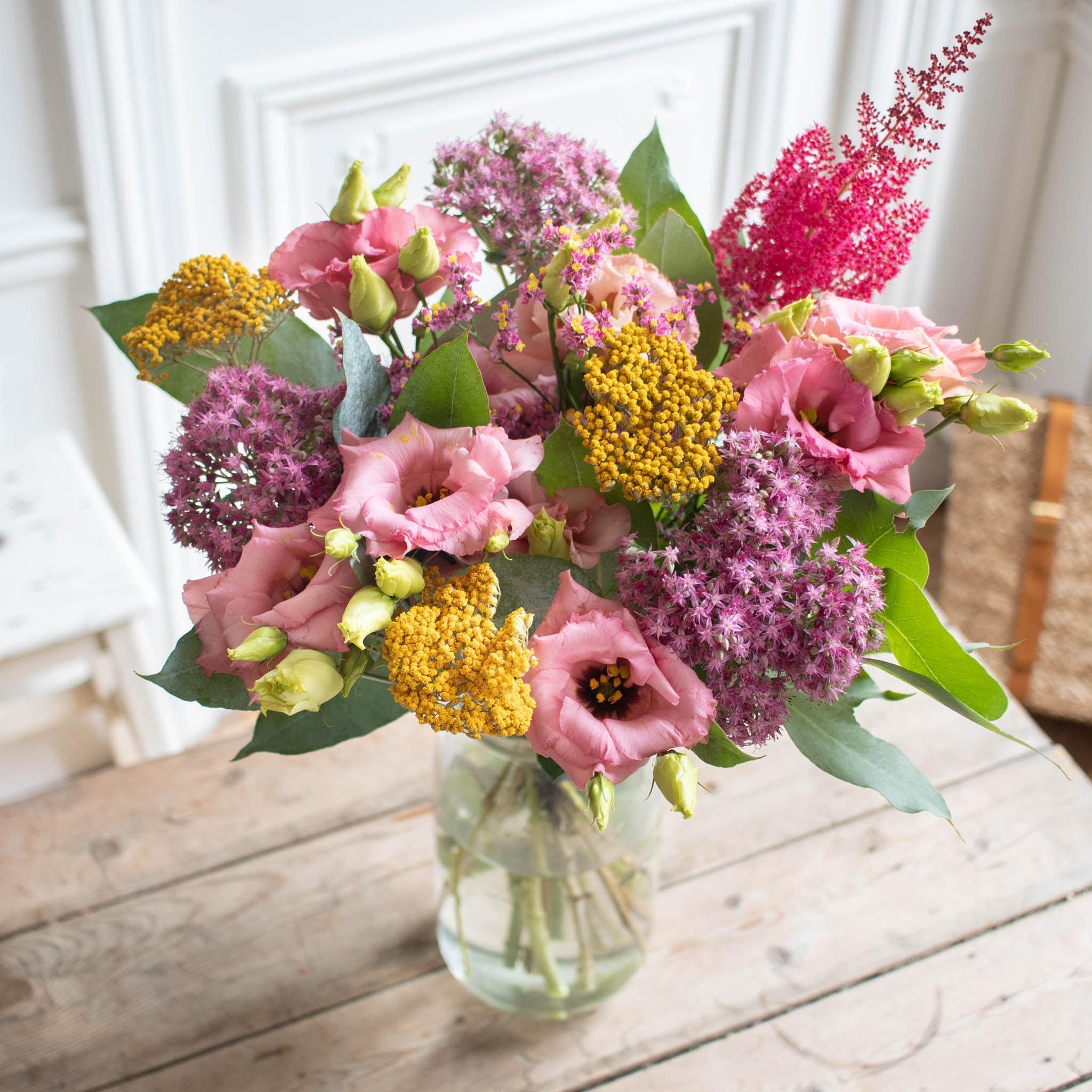 Blumenstrauß Alberta & Le Parfait vase
