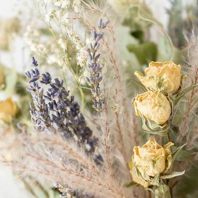 Nahaufnahme unseres Big Sur Blumenstraußes