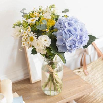 Bouquet San Sebastian dans un vase Le Parfait