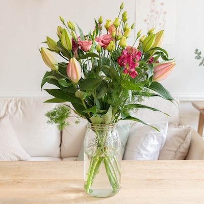 Unser DIY Strauß in der XL Le Parfait Vase.