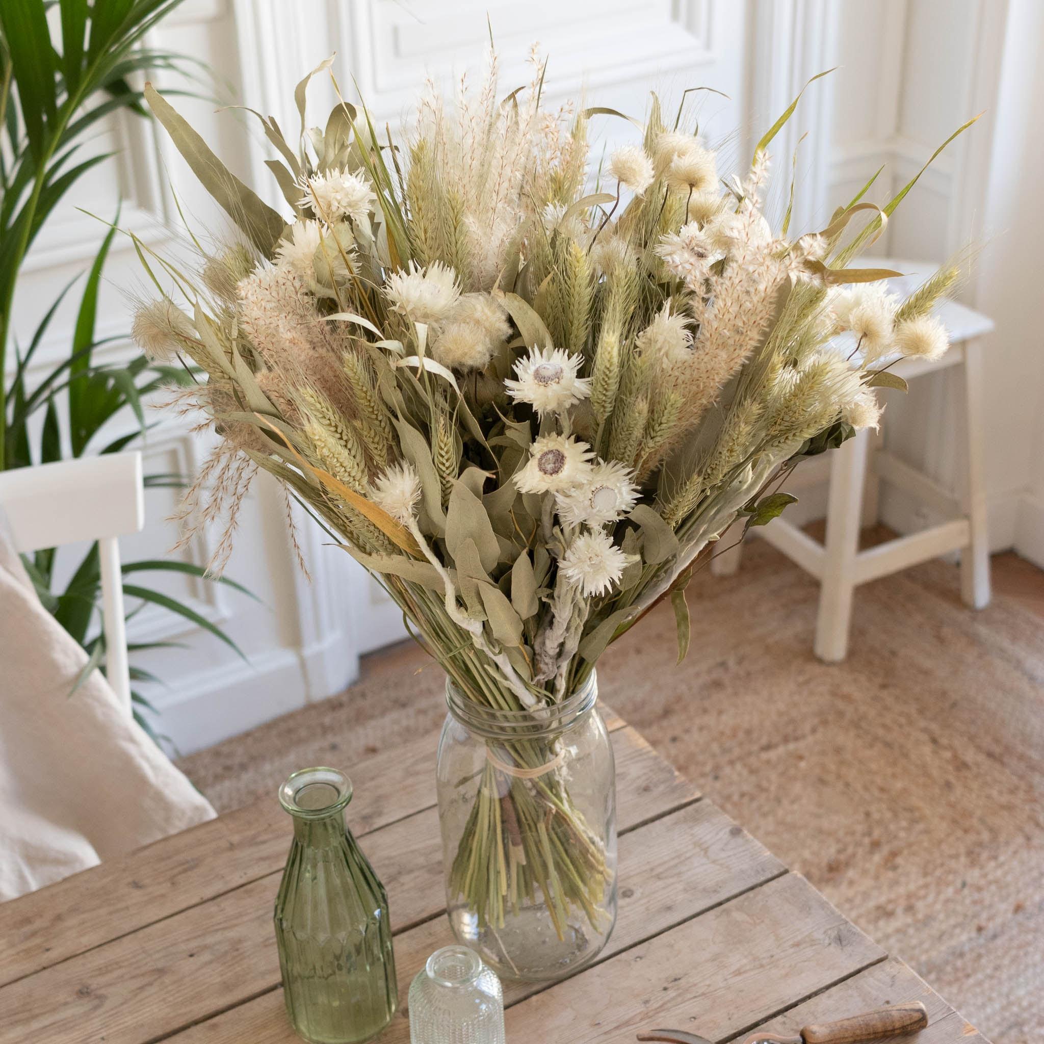 Trockenblumenstrauß Ronda & Le Parfait vase