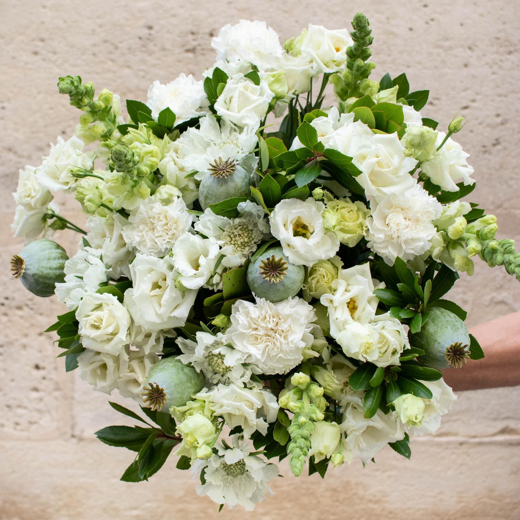"""Blumenstrauß Mykonos+ - Innerhalb der nächsten zwei Wochen spenden wir pro verkauftem Blumenstrauß 2€ an """"Aktion Deutschland hilft"""" und die Betroffenen der Hochwasser-Katastrophe."""