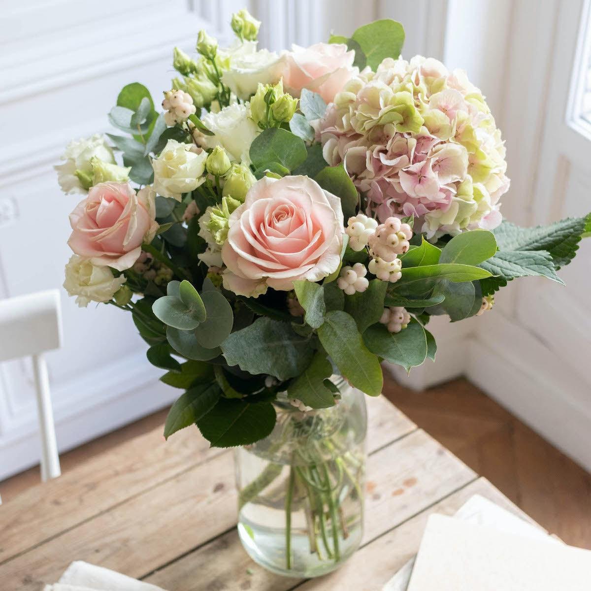 Bouquet Ottawa & vase Le Parfait