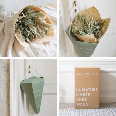 Unsere maßgeschneiderte Verpackung sorgt für einen sicheren Transport Blumenstrauß
